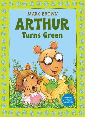 Arthur Turns Green By Brown, Marc Tolon
